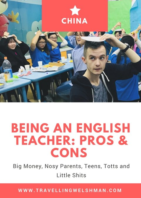 Being an English Teacher: Pros & Cons