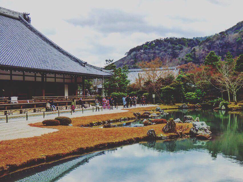 Tenryuji Temple kyoto arashiyama