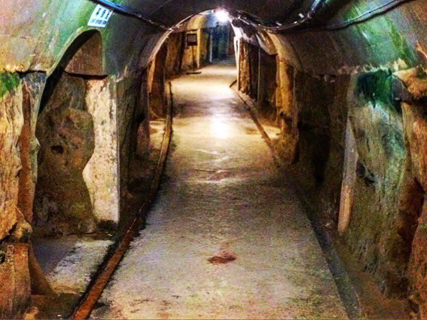 Former Japanese Navy Underground Headquarters war on okinawa