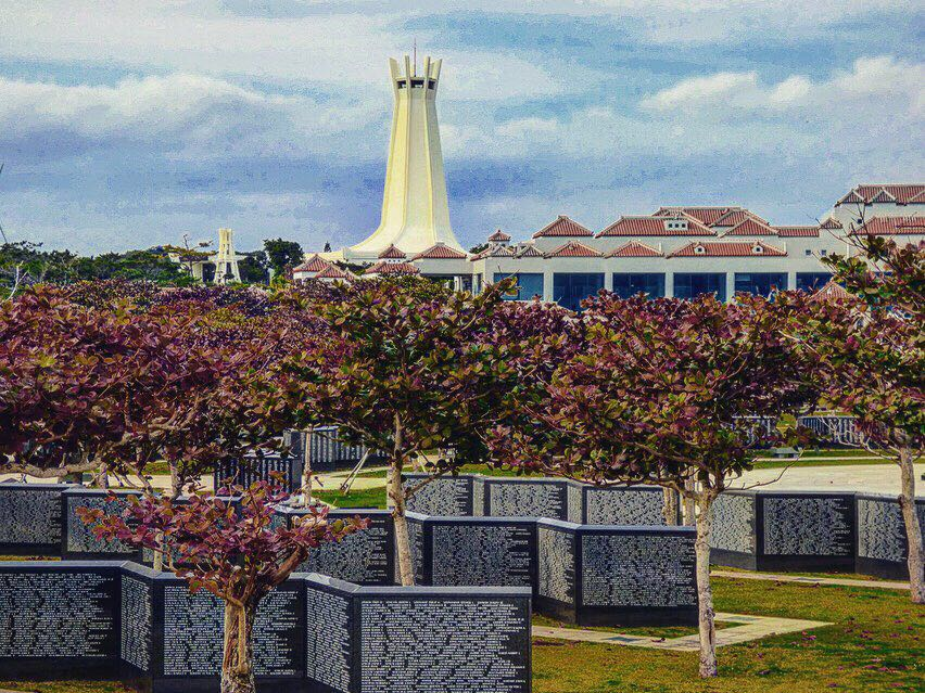 Peace Memorial Park war on okinawa