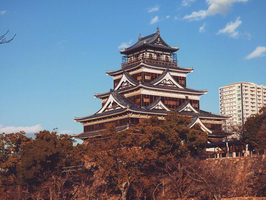 hiroshima castle highlights
