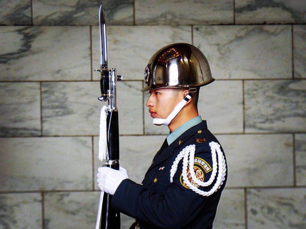 china and taiwan military