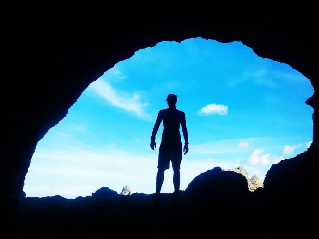 blue cave ludao
